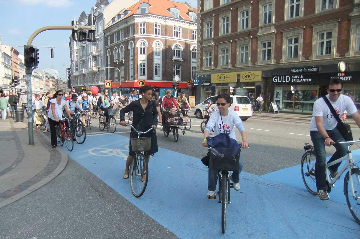 Top 10 bicycle city Copenhagen 8